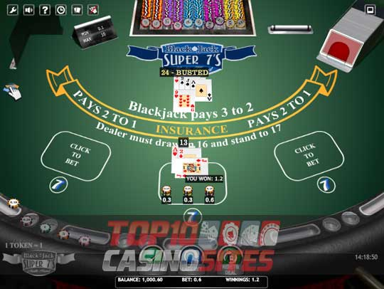 10Bet Casino Screenshot 2