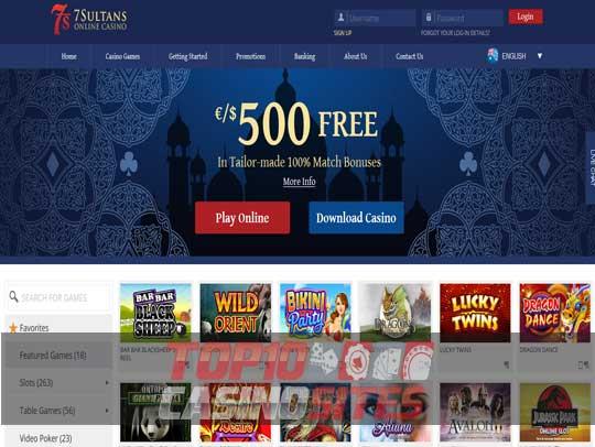 7 sultans casino