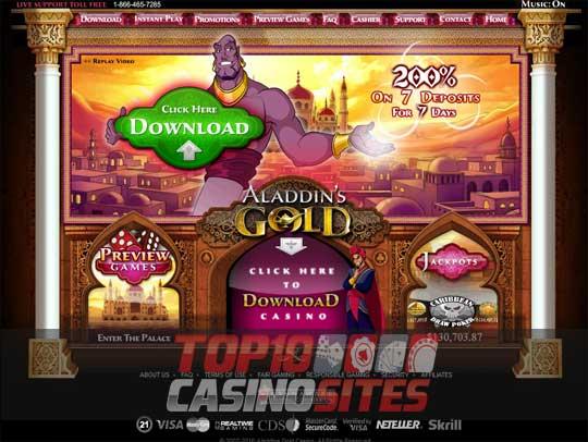 Aladdin's Gold Casino Review – Where Your Wishes Come True