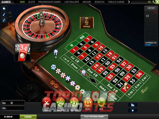 Casino Tropez Screenshot 3
