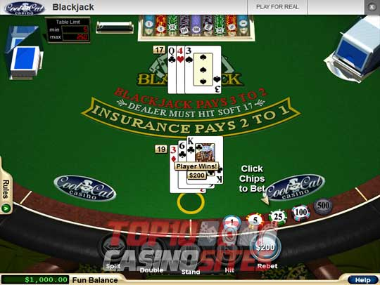 CoolCat Casino Screenshot 2