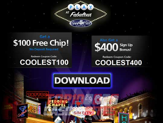 CoolCat Casino Screenshot 1