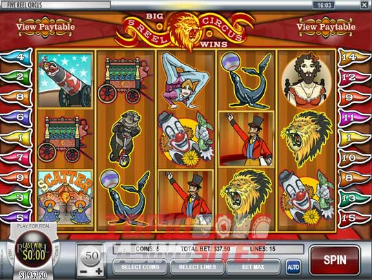 Play slot machine for real money