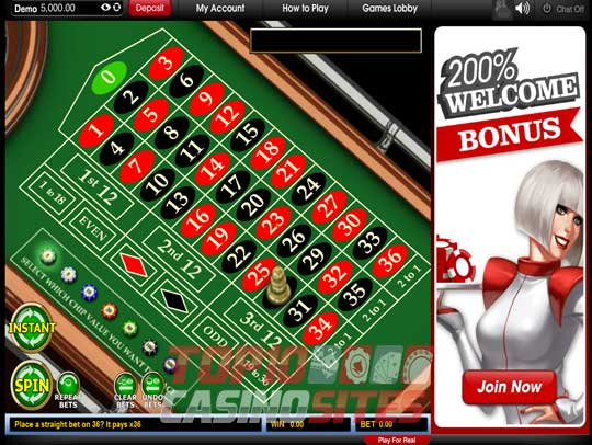 Virgin Casino Screenshot 3