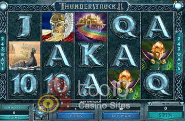 Thunderstruck II | Spilleautomater | Mr Green
