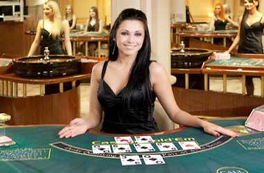 Live poker dealers in cherokee